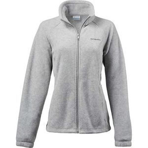 Gray unisex Columbia fleece